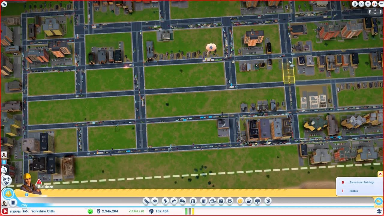 sc5 halby simcity 5 2013 building a no public transit 400k self rh youtube com SimCity Road Layout Guide SimCity Tips