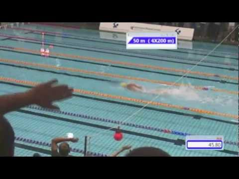Danish Open 2012 - Men 4x200m Freestyle Time Trial