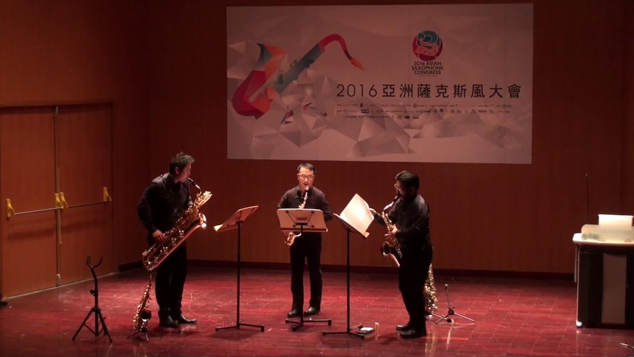 Trio Pour Saxophones – Jean Maillot