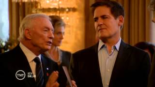 Mike Rawlings, Mark Cuban, & Jerry Jones Guest Star on Dallas - March 11th 2013 (720P)