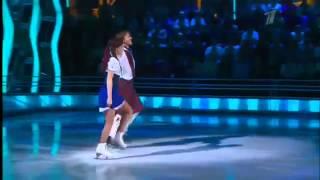 Шоу Ледниковый период 2013  14 й выпуск  Ирина Медведева и Повилас Ванагас  08 12 2013