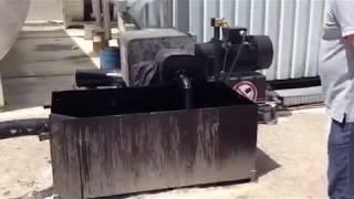 НПП Газэнергохим. Слив битума в наземное битумохранилище(, 2013-09-25T10:31:56.000Z)