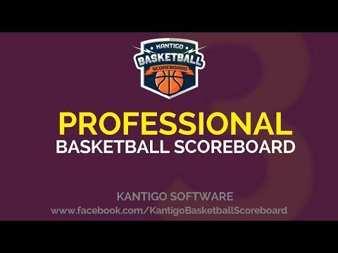 KantiGo Basketball Scoreboard Pro 3.0 - YouTube