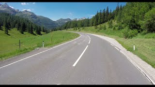 Across Europe by bicycle. Austrian Alps