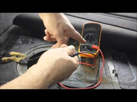 Testing if Fuel Pump is Bad Volkswagen Passat (1998 thru 2005)