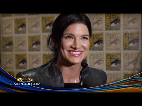 T.J. Miller, Gina Carano and the cast of Deadpool at Comic-Con