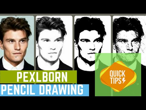 3 TYPES OF PENCIL SKETCH Effect in PHOTOSHOP thumbnail