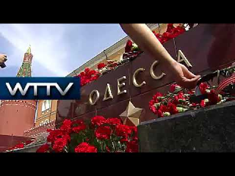 Russia: Muscovites remember victims of Odessa massacre