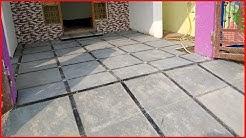 Kota Stone-Parking Floor-Tandure Natural Stone Installation-Sand and Cement