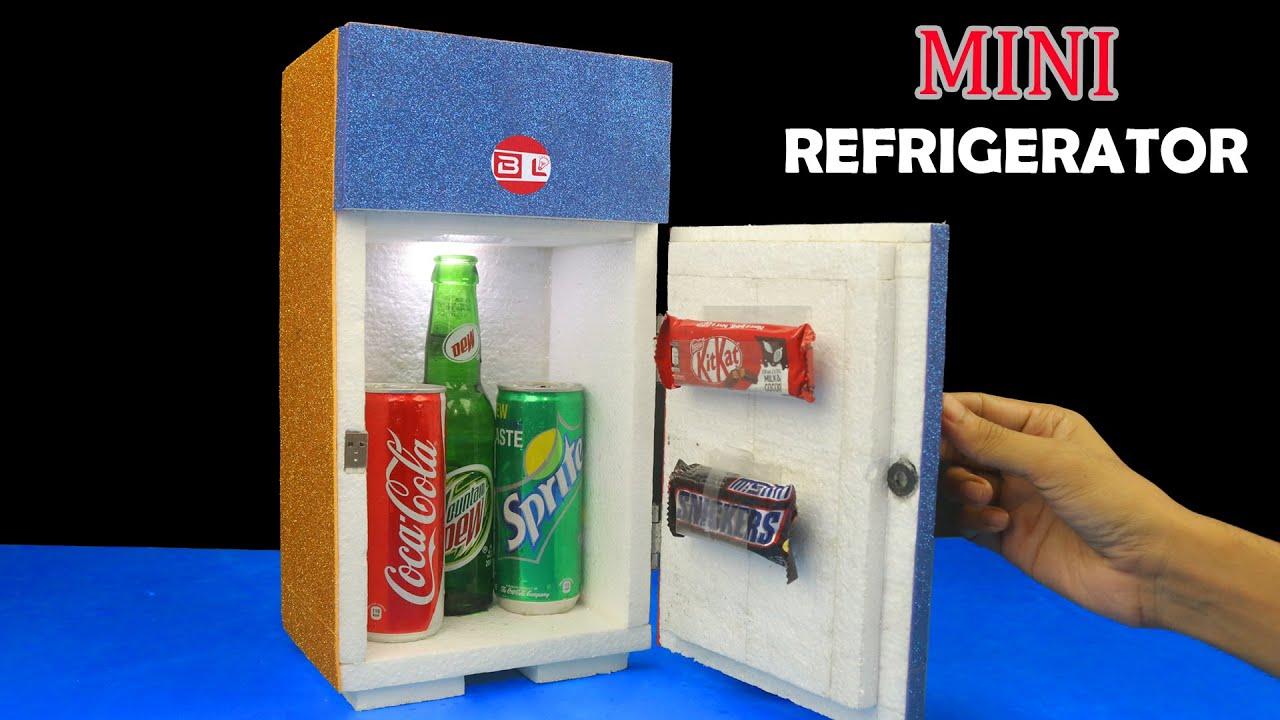 How to Make a Mini Refrigerator at Home - DIY