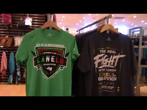 6e2020fcd31 canelo vs ggg awesome shirts and hats for fans for mega fight - EsNews  Boxing - YouTube