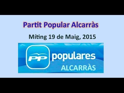 Míting PP Alcarràs