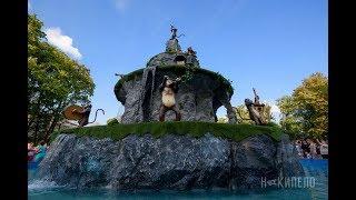 Новый фонтан в Саду Шевченко