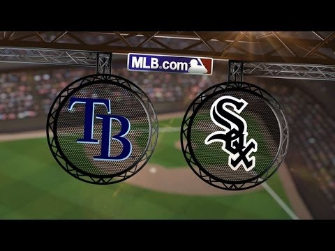 4/28/14: Rienzo and White Sox get past rain, Rays