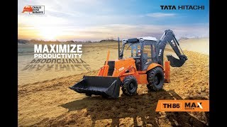 Tata Hitachi MAX Series Backhoe Loaders