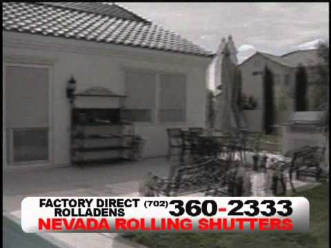 Nevada Rolling Shutter Commercial