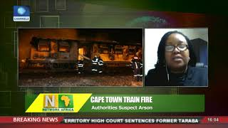 One Person Killed, Four Others Injured In Capetown Train Fire | Network Africa |