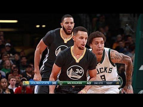 Golden State Warriors vs Milwaukee Bucks - Full Game Highlights | Nov 19, 2016 | 2016-17 NBA Season