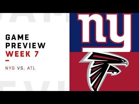 New York Giants vs. Atlanta Falcons | Week 7 Game Preview | Pro Football Focus