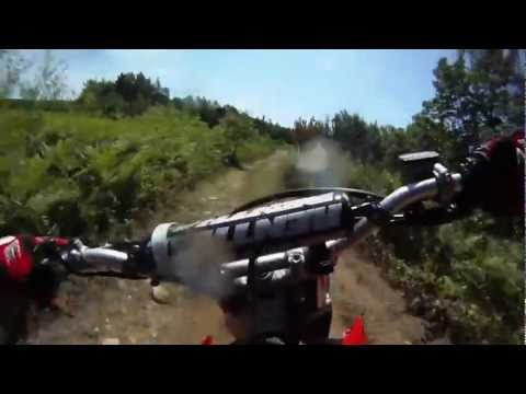Honda CRF230F Trail Riding in Maine