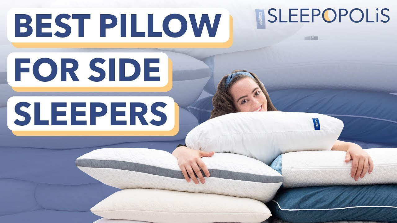 best pillows for side sleepers more support to avoid neck pain