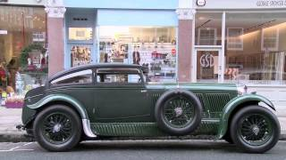 On the trail of the Bentley boys in the Bentley Blue Train