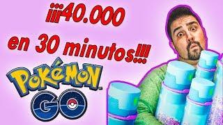 ¡FESTIVAL de POLVO ESTELAR en este EVENTO de Pokémon GO! 40000 en SOLO 30 MINUTOS!!! [Keibron]