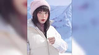 Жилет женский короткий в Корейском стиле Теплая безрукавка с воротником стойкой SEMIR 2021