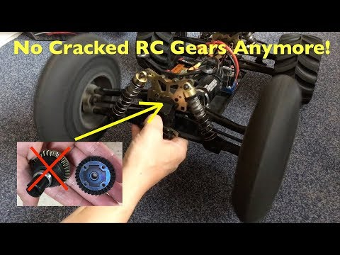 How To Make RC Car Steel Gears Stronger And Less Brittle