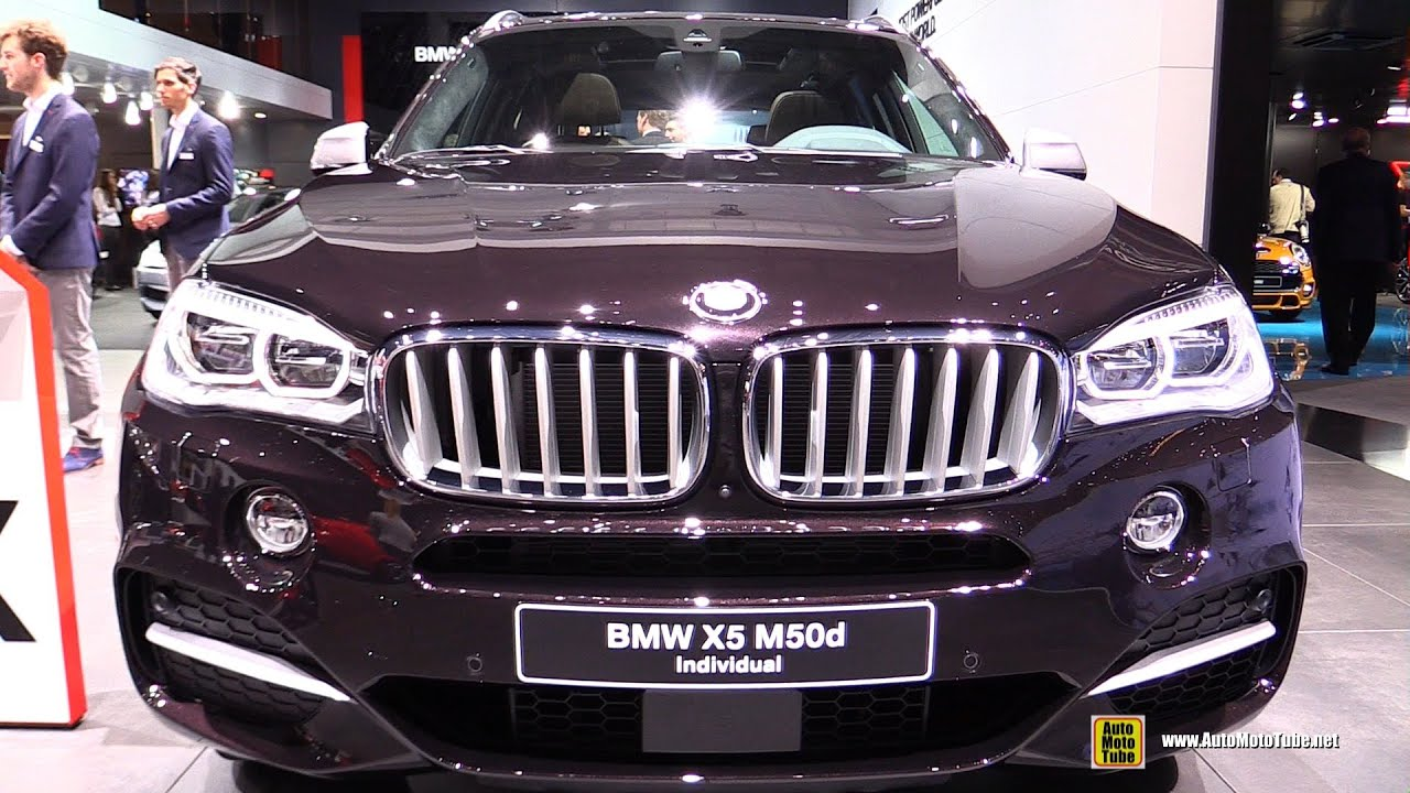 2015 Bmw X5 M50d Individual Exterior And Interior