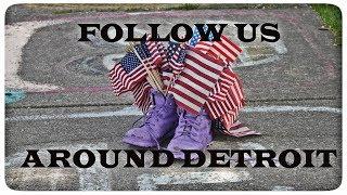 Жизнь в США: #TheLittlesFamily FOLLOW US AROUND DETROIT | ПРОГУЛКА ПО ДЕТРОЙТ