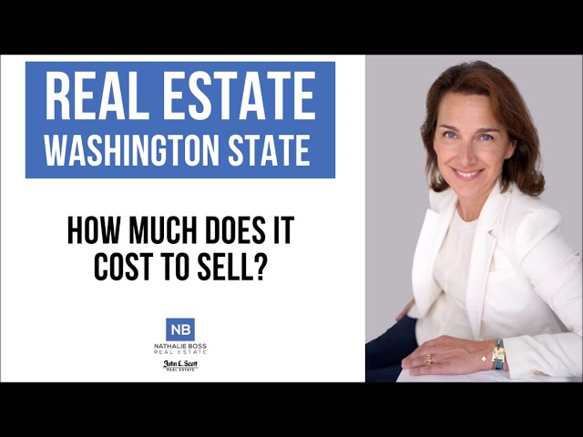 Seattle and Eastside Homeowners: How much does it cost to sell?