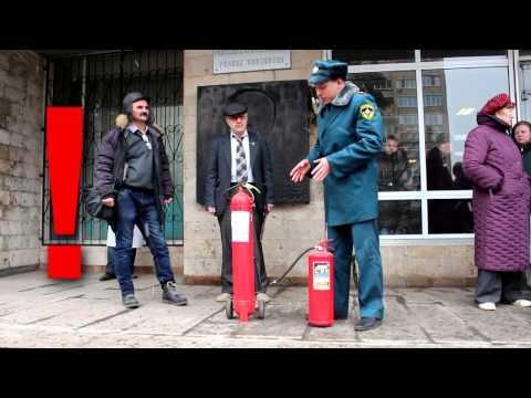 Тренировка по эвакуации сотрудников ФГУП ИМГРЭ при пожаре