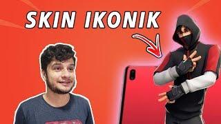 I GOT THE EXCLUSIVE SKIN OF THE GALAXY S10-SKIN IKONIK FORTNITE!