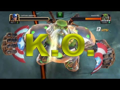 Marvel Contest of Champions All Special Moves Attack Knockouts
