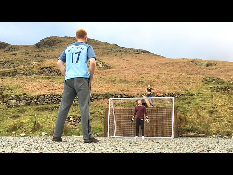 EXTREME DIY MOUNTAIN FOOTBALL CHALLENGES