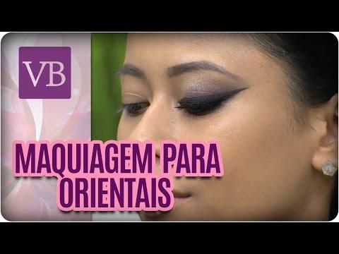 Maquiagem para orientais - Você Bonita (28/07/16)