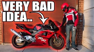 WHY I Bought THIS 1000cc Bike as My FIRST Bike!