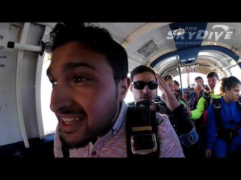 Ahmed Alnami's Tandem skydive!