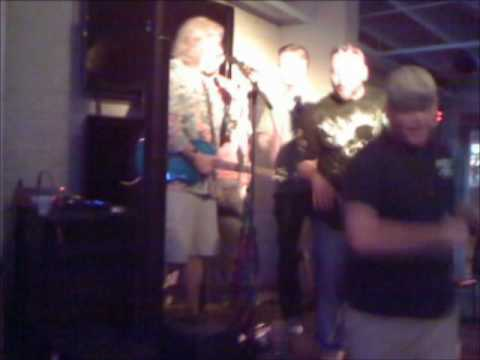 Tall Paul with guest Erik Ainge sing Free Fallin