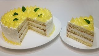 """ТОРТ """"ЛИМОННОЕ НАСЛАЖДЕНИЕ"""" (""""lemon delight"""" cake)"""