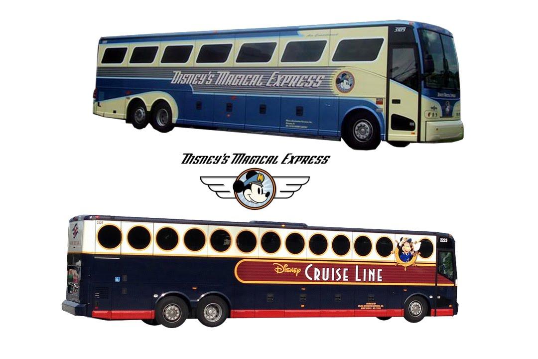 Disneys Magical Express And Disney Cruise Line Transportation - Toy disney cruise ship
