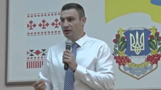 Кличко: Одна из задач - сделать так, чтобы воду в Киеве можно было пить из-под крана(, 2014-05-15T20:07:03.000Z)