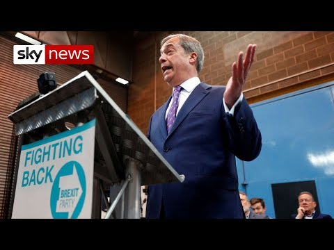 Farage launches Brexit Party for 'betrayed electorate'
