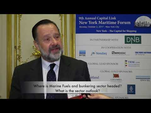 2017 9th Annual New York Maritime Forum - Mr. Adrian Tolson Interview