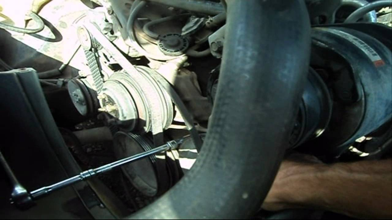 small block chevrolet: water pump removal & installation