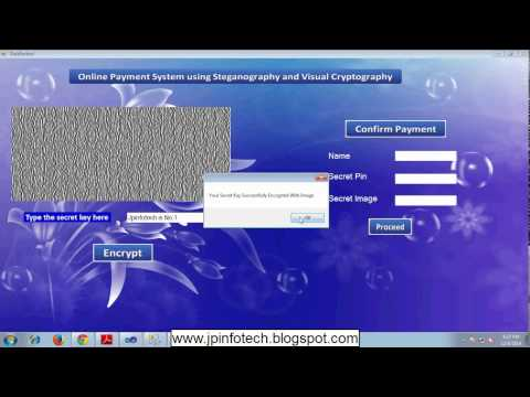 Online Payment System using Steganography and Visual Cryptography