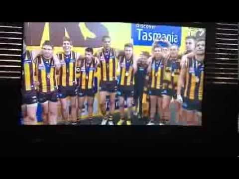 Hawthorn Sings Club Song After Grand Final Win (2013)