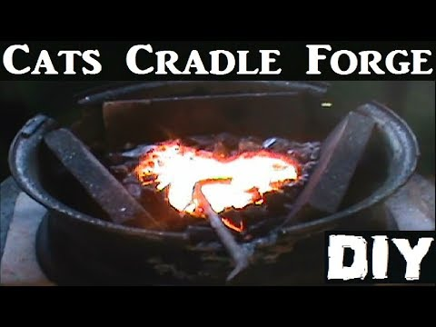 DIY Forge build/Car Rim Forge/Cats Cradle Forge