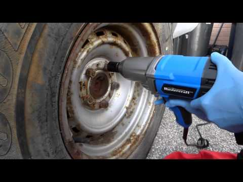 Mastercraft 7.5a electric impact wrench review